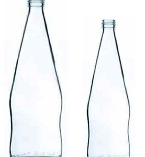 Bottiglia di vetro per acqua