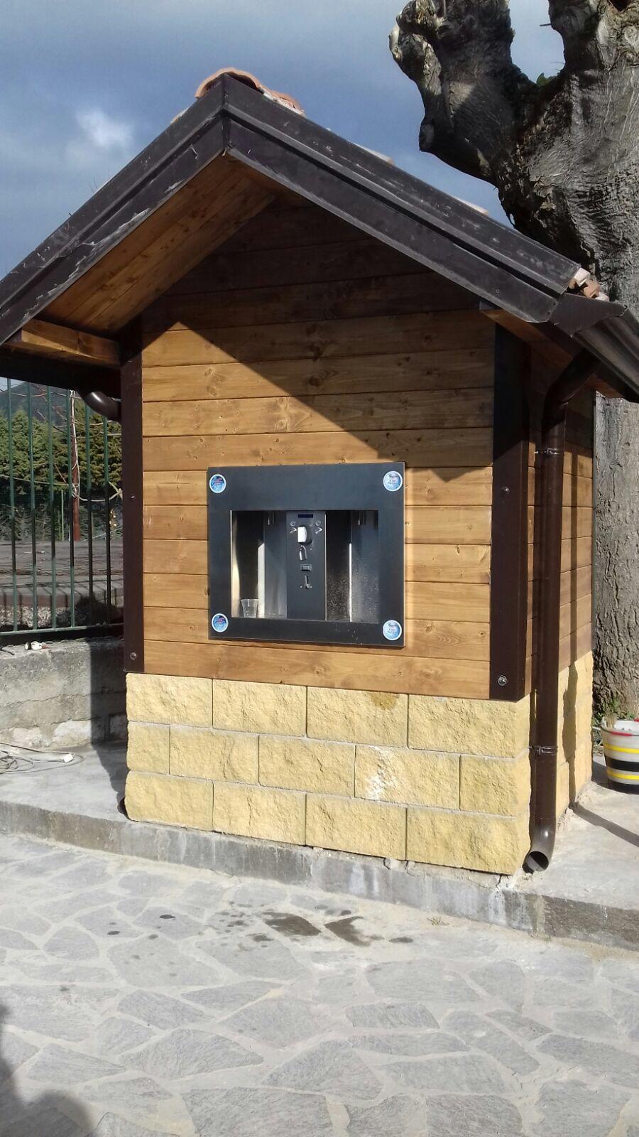 Casa dell'acqua legno